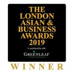 Winner Logo - London Asian Business Awards 2019