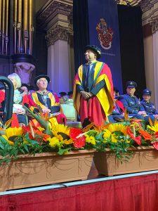 Honorary Doctorate Award