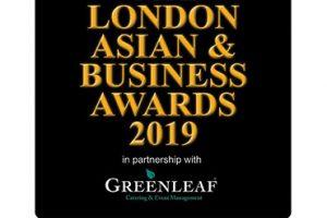 Winner Logo – London Asian Business Awards 2019